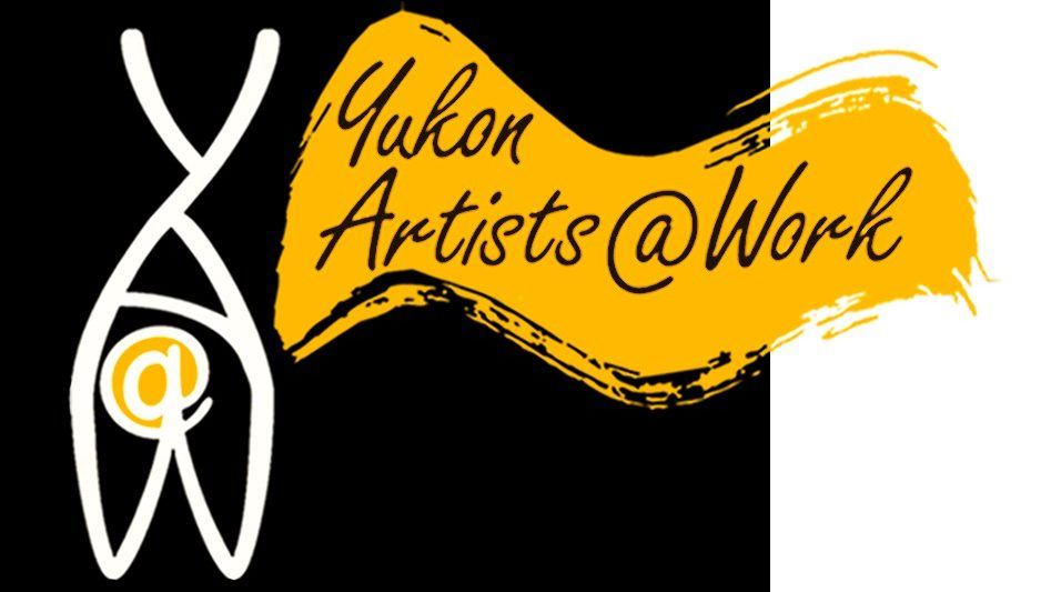 Logo for Yukon Artists @ Work